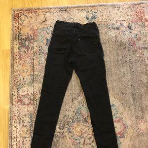 Levi's Jeans - Levi's High Waisted Black Skinny Jeans